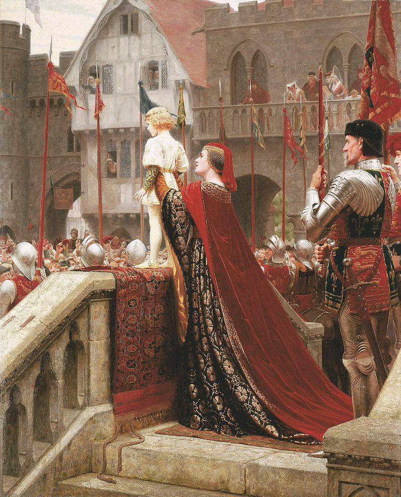 edmund_blair_leighton_-_a_little_prince_likely_in_time_to_bless_a_royal_throne