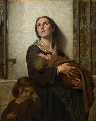 hugues-merle-the-poor-mother